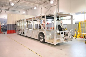 Altair designed a lightweight bus to demonstrate how smarter software can improve efficiencies and cut weight at the early design stage of product development.