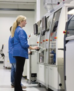 TOGGLED's automated manufacturing process requires a core group of highly skilled technicians
